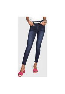 Calça Jeans Forum Skinny Marisa Cigarrete Azul
