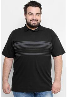Camisa Polo Hd Plus Size Estampa Army Masculina - Masculino