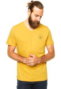 Camiseta Colcci Denin Amarela