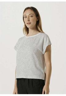 Blusa Feminina Em Tecido De Viscose Off-White