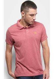 Camisa Polo Fatal Lisa Masculina - Masculino-Vermelho