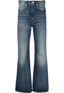 Isabel Marant Étoile Belvira Flared Jeans - Azul