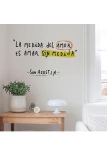 Adesivo Frase Amor Em Espanhol