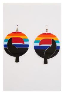 Brinco Tucano Rainbow - Multicolorido - U