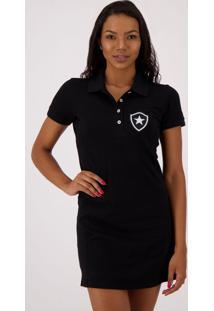 Vestido Botafogo Preto