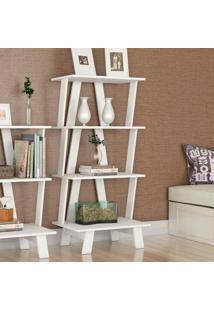 Estante Para Livros Az1001 Branco - Tecno Mobili