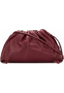 Bottega Veneta Bolsa The Mini Pouch - Vermelho