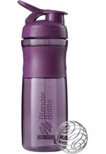 Coqueteleira Blender Bottle Sport Mixer 830 Ml Roxo