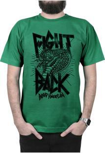 Camiseta Bleed American Fight Back Bandeira