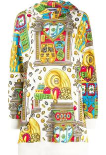 Moschino Suéter Estampado - Branco