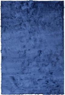 Tapete Felpudo Shaggy Rayon Cobalt Blue 40Mm