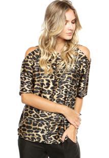 Blusa Lança Perfume Leopardo Onça