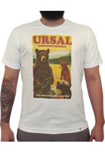 Ursal Lá Fora - Camiseta Clássica Masculina