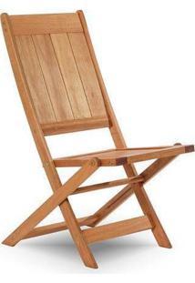Cadeira Dobrável Sem Braço Acqualung Jatobá Mão E Formão