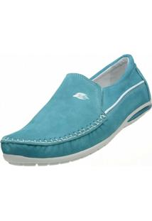 Sapato Social Alcalay Nobuck Verde
