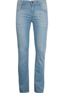 Calça Jeans Lacoste Reta Azul