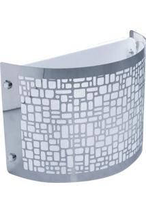 Arandela Taschibra Radiance Alumínio