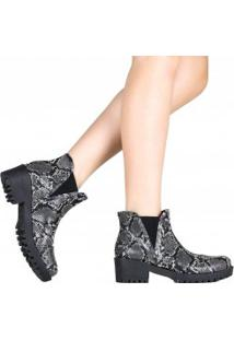 Bota Zariff Shoes Chelsea Animal Print