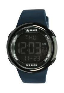 80fc64ec4a2 ... Relógio Digital X Games Xmppd440 - Feminino - Azul Escuro