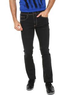 Calça Sarja Calvin Klein Jeans Slim Lisa Preta