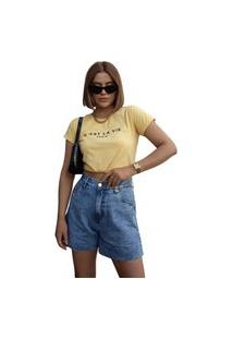 Blusa In Love T-Shirt A Vida Amarela