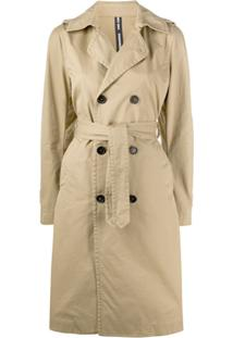 Dsquared2 Double Breasted Trench Coat - Neutro
