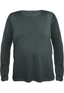 Camiseta Gajang Sem Costura Gigante Militar