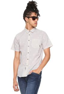 Camisa Billabong Reta Sunday Mini Bege