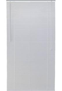 Persiana Horizontal Pvc Block 160X100Cm Branco