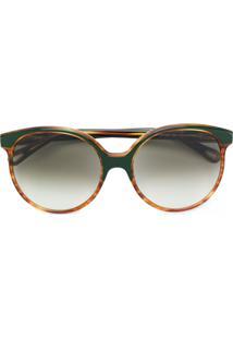 R  2160,00. Farfetch Óculos De Sol Redondo De Sol Feminino Marrom Kj Chloé  U2 Arredondado - Eyewear 68b93feb53