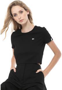 711762194048e Camiseta Lacoste Reta feminina   Shoelover