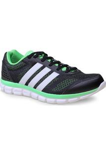 Tenis Masc Adidas B40300 Breeze 202 2 M Preto/Limao/Branco