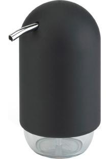 Porta Sabonete Líquido Touch Preto