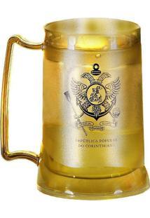 ... Caneca Gel Corinthians Dourada República Popular 1180384d79aa1