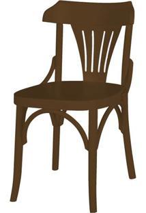 Cadeira Opzione Acabamento Marrom - 27450 - Sun House