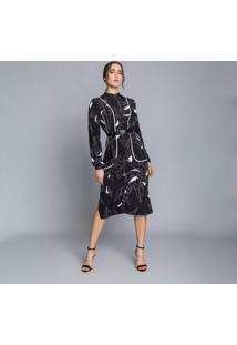 Vestido Mídi Cinto Industrial Square - Lez A Lez