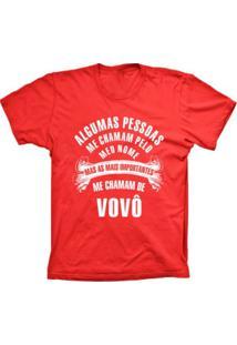 Camiseta Lu Geek Manga Curta Chamam De Vovô Vermelho