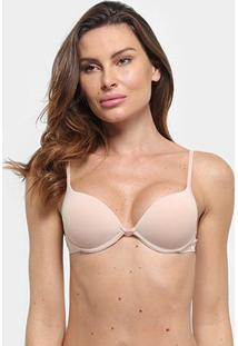 Sutiã Bojo Hope Push Up Clássico - Feminino-Nude
