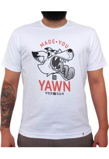 Made You Yawn - Camiseta Clássica Masculina