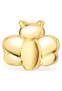 Brinco Único Life Banho Ouro Amarelo Abelha