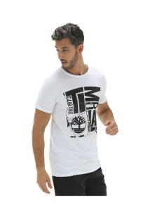 Camiseta Timberland Tbl City Logo - Masculina - Branco