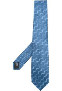 Cerruti 1881 Gravata De Seda Com Padronagem - Azul