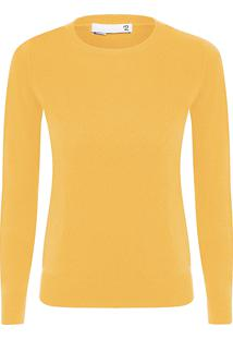 Sweater Feminino Cashmere - Amarelo