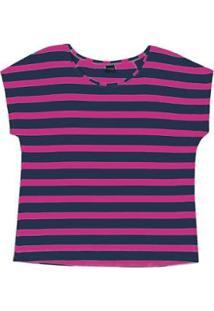 Blusa Plus Size Rovitex Premium - Feminino-Rosa