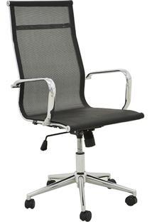 Cadeira Alta Oficce Pu Sevilha -Rivatti - Preto
