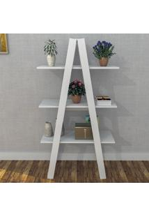 Estante Decorativa Self 3 Prateleiras Branco - Appunto