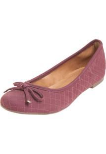 Sapatilha Dafiti Shoes Matelasse Vinho