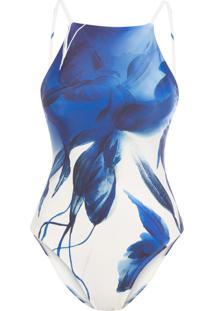 Maiô Trapézio - Azul