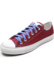 59d09563775 ... Tênis Converse Chuck Taylor All Star Vinho Azul