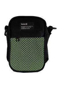Bolsa Hurley Shoulder Bag Preta / Verde Un